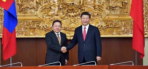 邀请额勒贝格道尔吉总统今年11月赴华出席亚太经合组织领导人非正式图片